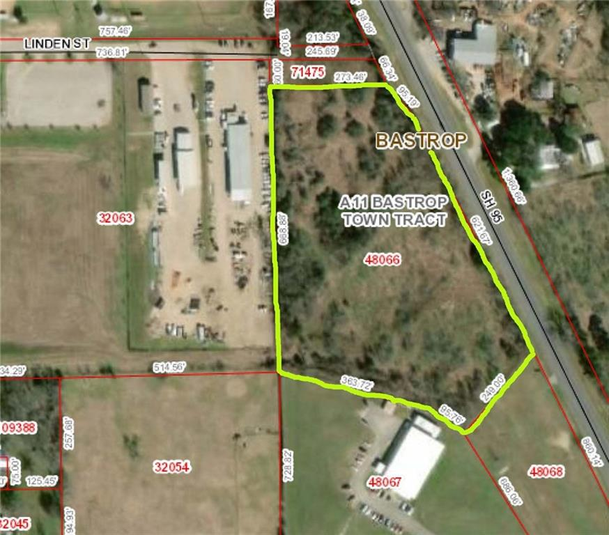 Amazing opportunity! 7.397 acres. +/-716 feet of State Hwy 95 Frontage in Bastrop City Limits. Commercial Property Zoned EC 'Employment Center'. Ideal for 2nd-tier commercial-retail development. City Permits needed. Water/Sewer/Electric available. Property situated between Bastrop & Elgin. 40 minute drive to SE or NE Austin. Estimated SH 95 traffic counts is +/-18k daily. County Population +/-84k. 30 minute Drive Population +/- 183k. Survey Available. Save & Hold or Buy & Build!Restrictions: Yes