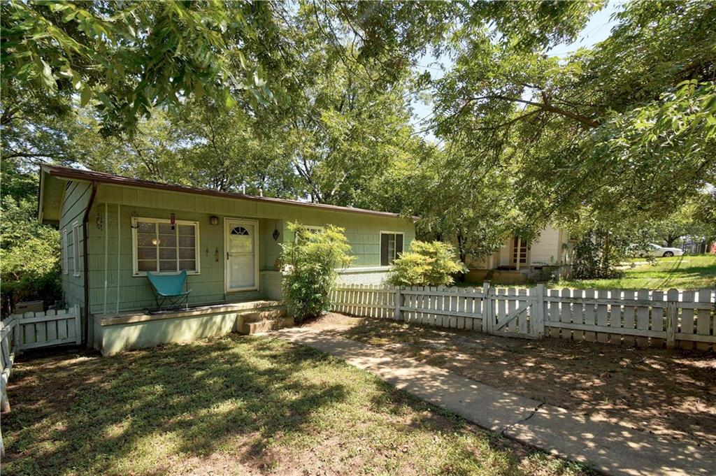 Great location for this cute bungalow home.  TLC needed, but being just a hop, skip and jump away from 2222, Far West, Burnet Rd, N Lamar and all that those areas have to offer, this home has potential.  Update and remodel the 2 bedroom 1 bath home to keep old Austin charm or tear it down and rebuild on the .149 acre lot!Restrictions: Yes