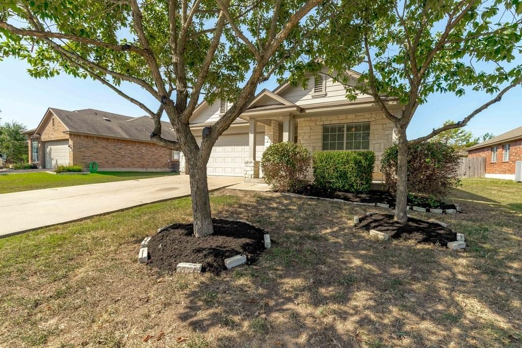 Recently updated home with new vinyl plank flooring in the living room and hallways, new carpet in the bedrooms and freshly painted throughout the entire home and brand new microwave, stove and oven. This home offers 4 bedrooms and 2 bathrooms and is conveniently located near the neighborhood pool, community walking path, soccer fields and other community amenities. It is situated in the highly acclaimed Hutto School District and located close to major shopping, Highway TX-130 and Star Ranch Golf Course.Restrictions: Yes