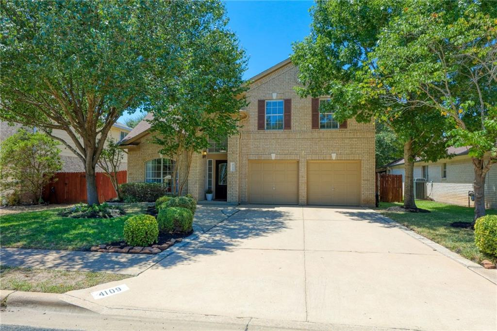 Move-in ready, as-is home w/ lots of trees & great curb appeal. Fresh paint & trim. Replaced AC, heater, ductwork, dishwasher, microwave, disposal, H20 heater, carpet & fence w/in past 3 yrs. Roof: 10yo w/ lifetime warranty.? 2014 kitchen remodel: granite countertops & floor tile.  Outdoor features include large fully fenced yard, shed, & a trampoline to convey. EXEMPLARY Leander ISD schools, close to HEB, Outlet Mall, Costco, & Whole Foods 360. Easy access to I-35 & 183 Toll road. Appliances & TV convey.Restrictions: Yes