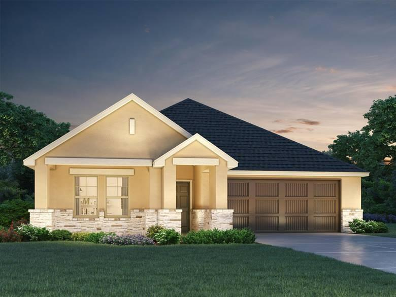 Restrictions: Yes Brand NEW energy-efficient home ready Oct-Nov 2020! Open, single-story, expansive breakfast bar, private study and covered outdoor patio. Espresso cabinets, salt 'n pepper granite, white geo backsplash, light gray tile and carpet, and light gray tile in Posh package. Amenities will include a pavilion, playground, great lawn, swimming pool &