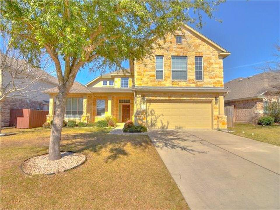 Price Drop!  Lovely 3,254 sqft home w/5 beds/or 1 office, 2-1/2 baths, at the end of a cul-de-sac.  Featuring a large kitchen island w/ Granite Counter-tops, tile back-splash, gas cooktop, built-in oven, microwave.  Pre-wired surround sound in the Media/Game-room.  Dream master-bedroom on 1st floor features tub/shower, large walking closet, & great natural light.  Backyard patio, sprinkler system, water softener, with neighborhood parks, pool, schools, entertainment, & shopping.  Perfect for your family!Restrictions: Yes  Sprinkler Sys:Yes