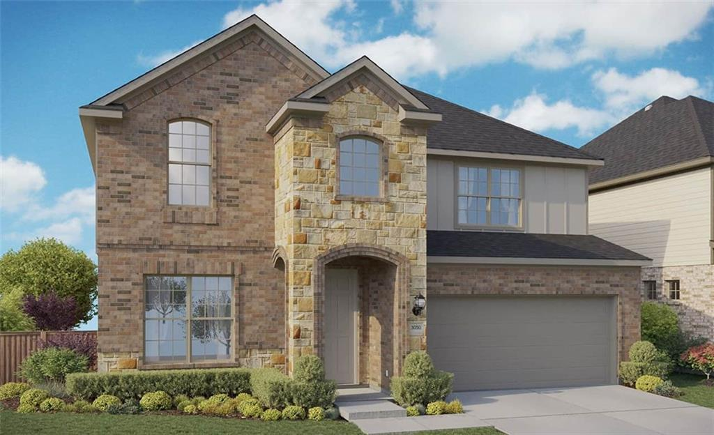 Rosewood floor plan with features that include 2 story family room, bed 5 and bath 3 in lieu of dining and powder, walk in shower with bath 2, large master walk in closet, large kitchen island, walk in pantry, covered patio. Available December.Restrictions: Yes  Sprinkler Sys:Yes