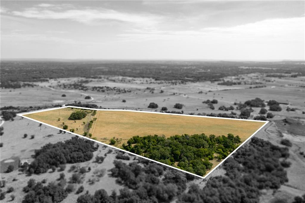Gorgeous Hill Country 25 acres with Majestic Oaks Trees, Hay Field, Pond, & only 1 mile off Hwy 183 for easy access into Cedar Park, Lender, Austin, etc.  Private & Peaceful.FEMA - Unknown Restrictions: Yes