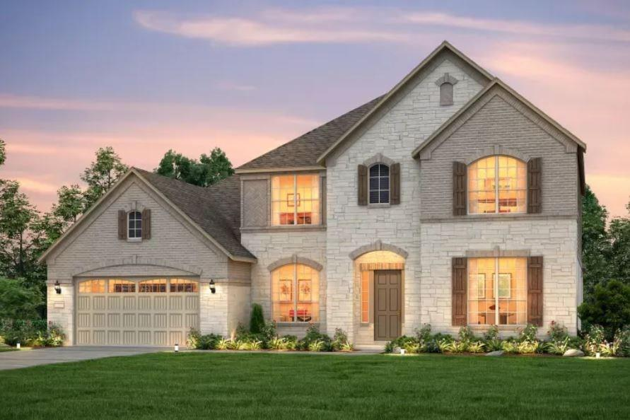 NEW CONSTRUCTION BY PULTE HOMES! Available Dec 2020! Home site backs to greenspace. Balcony on second floor. Media room. White glass stacked cabinets in kitchen and butlers pantry.FEMA - Unknown Restrictions: Yes  Sprinkler Sys:Yes