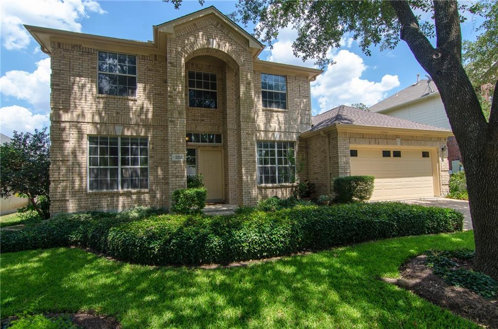 Mstr-Ste Down~dble pntry~built-in entrtnmnt cnt~2 story high foyer~game rm & 3 lg upstrs bedrms~Jack-and-Jill bath~Guest-ste w/full bath~Family rm w/high ceilings & f.p.~Kitchen w/bay-window~Mstr ste w/sitting area~Mstr bath w/dual vanities, grdn tub & sep shwr & lg walk-in closet~Back yd shaded by majestic trees w/2 patio's~Kenetico water-softener sys~ext painted 2013~flooring updated 2013~full sprinkler sys installed 2014~roof & gutters replaced 2017~Dual HVAC system (1 unit replaced 2011 & other 2017)FEMA - Unknown Guest Accommodations: Yes Restrictions: Yes