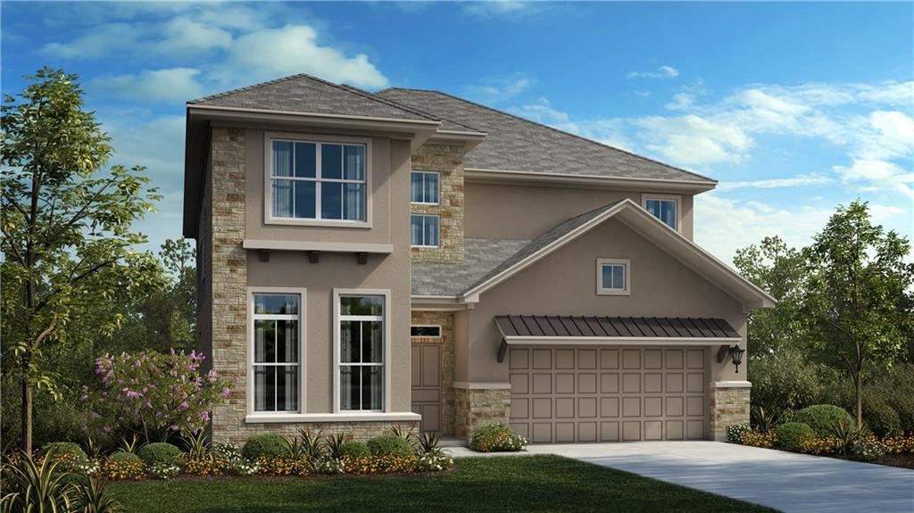 """Restrictions: Yes Our popular 2 story plan, the Parmer is 3,133 sf with 4 bed, 3.5 baths, study, 3 car garage, Media Room, large eat in kitchen, and extended covered patio!  There are many interior upgrades including beautiful wood flooring throughout most living areas, built-in stainless-steel appliances with 36"""" cook top & hood vent, granite counter tops in kitchen and all bathrooms, along with many other thoughtful touches."""