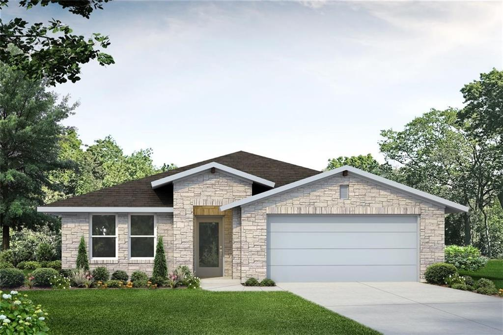 """MLS# 6934191 - Built by Brohn Homes - January completion! ~ This beautiful 2038 sq ft home will be complete for move-in Jan 2020. This home features a private study, extended back patio, built-in stainless steel appliances, and 42"""" kitchen cabinet uppers. The master bathroom offers an extended walk-in shower with a raised dual vanity. **Photos not of actual home**Restrictions: Yes"""