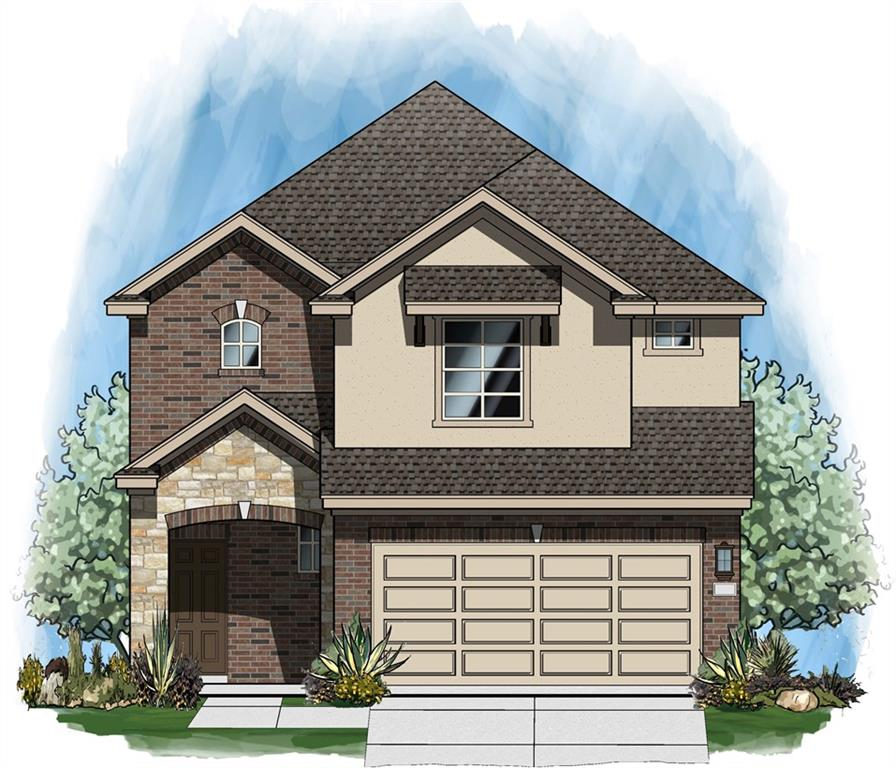 """Dec 2020 completion on this 4 bed/3.5 Bath/ loft 2155 SF home. XL Covered Patio; THREE CAR GARAGE Kitchen open to dining/ living. Kitchen includes 36"""" upper cabs, island, Granite tops and stainless appliance pkg.   Master bath w/walk in shower with seat, ceiling-height mirror, dual undermount sinks, quartz top. Covered patio, full landscape pkg. Owner's Retreat is on main floor.Restrictions: Yes"""
