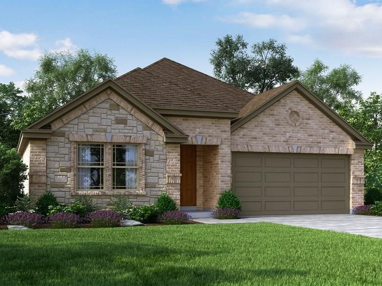 Brand NEW energy-efficient home ready February 2021! The Maddox's private owner's suite features dual sinks and a generous walk-in closet. Clear views between the family room and kitchen make this one story layout feel extra spacious.Enjoy being tucked away in a peaceful, quiet community. Known for their energy-efficient features, our