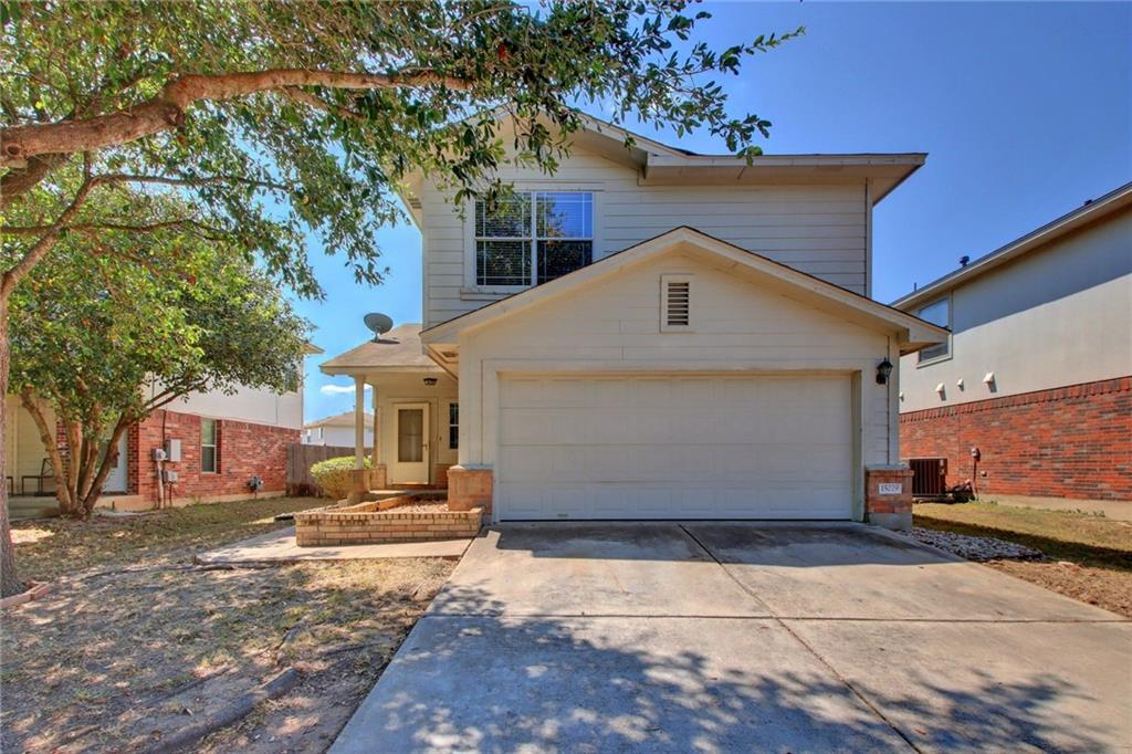 This home is in a great location, near Austin and in the, Heart of Pflugerville!  Great location for commuters! Take Wells Branch to 35 or 130. Mere minutes away from shopping, movies and more! Walk into a spacious living area with Vaulted high ceilings. In addition to the great location this three bedroom room home has recent new carpet upstairs and freshly painted rooms. Nice yard, covered patio, which is screened in with a fan.Restrictions: Yes