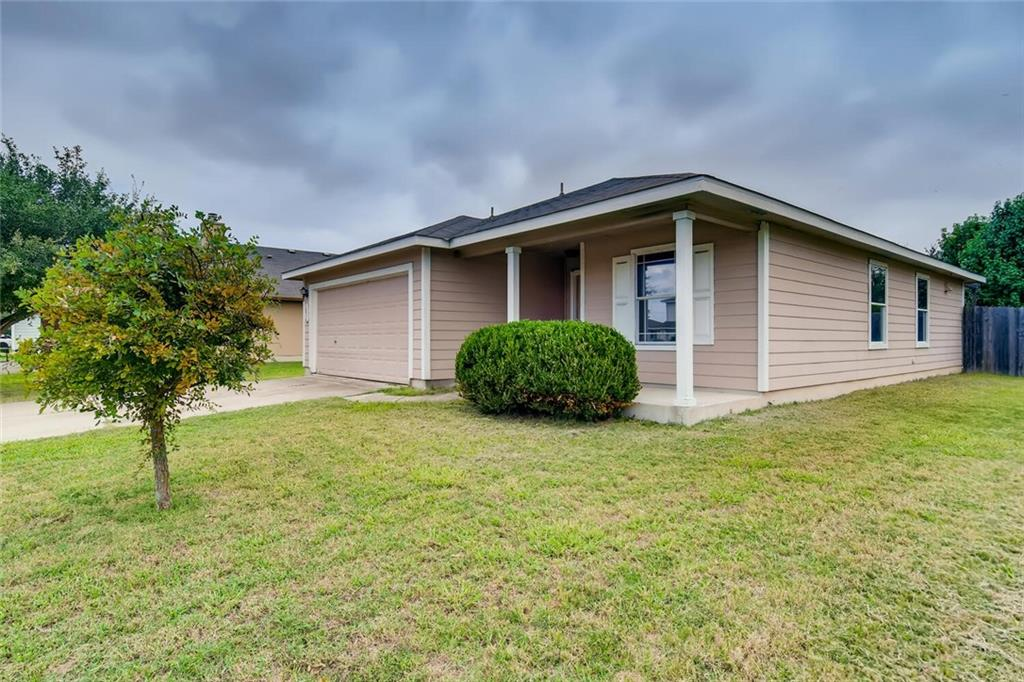 Cute as a button and lovingly cared for home in the heart of Hutto. Nestled between both Toll Rd-130 and HWY 79 this neighborhood offers  super fast access to local restaurants, convenient stores, parks, schools, & neighborhood trails. This tiny gem has several thoughtfully planned features and well distributed floor offering natural light and plenty of space. 