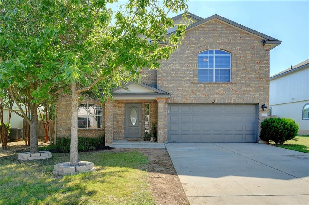 Riverwalk beauty set on a peaceful cul-de-sac street! This well-maintained home exudes pride of ownership w/wonderful upgrades throughout. This lovely 2-story plan features 4BD/2.5BA, spacious light-filled living & a formal dining/flex area. The kitchen has crisp white cabinetry & upgraded SS appl. The spacious Master features a ship-lap accent wall & bath w/deep tub, shower, dbl. vanity + WIC. Fresh carpet & paint throughout! Loft/Game Room. Covered patio w/extended deck in your tree-filled backyard.Restrictions: Yes