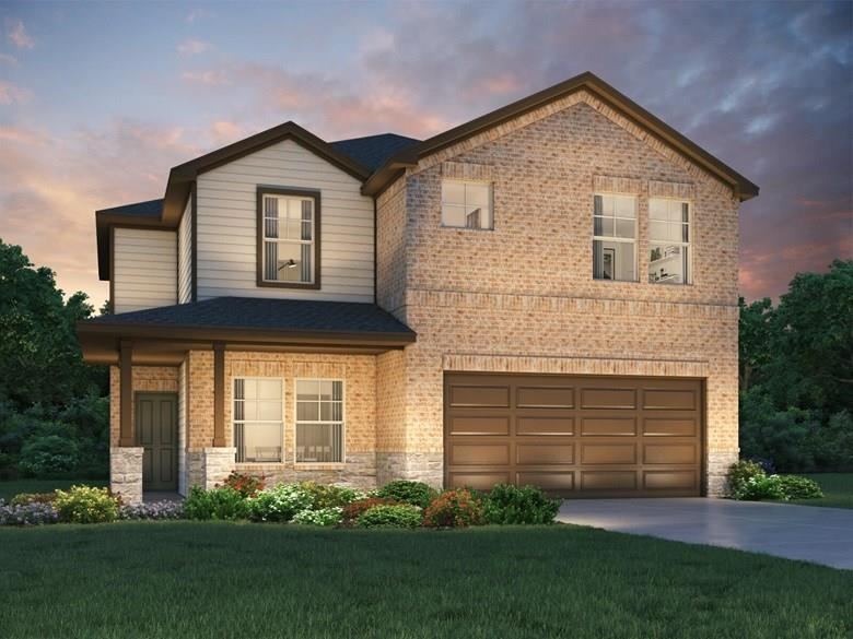 Brand NEW energy-efficient home ready Oct 2020! Open kitchen helps keep an eye on the family room. Private study, versatile upstairs loft, large game room. Espresso cabinets, white subway tile backsplash, salt 'n pepper granite counters, light tile, and greige carpet. Amenities will include a pavilion, playground, great lawn, swimming pool and splash pad. Known for their energy efficient features, our homes help you live a healthier and quieter lifestyle while saving thousands of dollars on utility bills.Restrictions: Yes