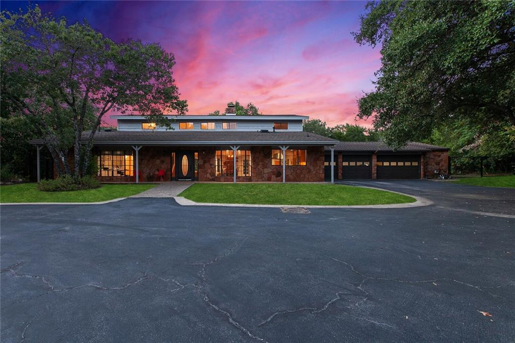 This incredible almost 2-acre hilltop estate is located in a close-in Westlake neighborhood on a lush, private lot. This property is desirably located only minutes from downtown Austin and in the highly acclaimed Eanes ISD. The possibilities are endless with room to expand or completely reimagine. A rare opportunity for an urban sanctuary with gorgeous sunsets and birdsong sunrises. Low tax rate for the area at only 1.84%! Furman + Keil Architects have begun work on the design.(See photos)FEMA - Unknown Restrictions: Yes