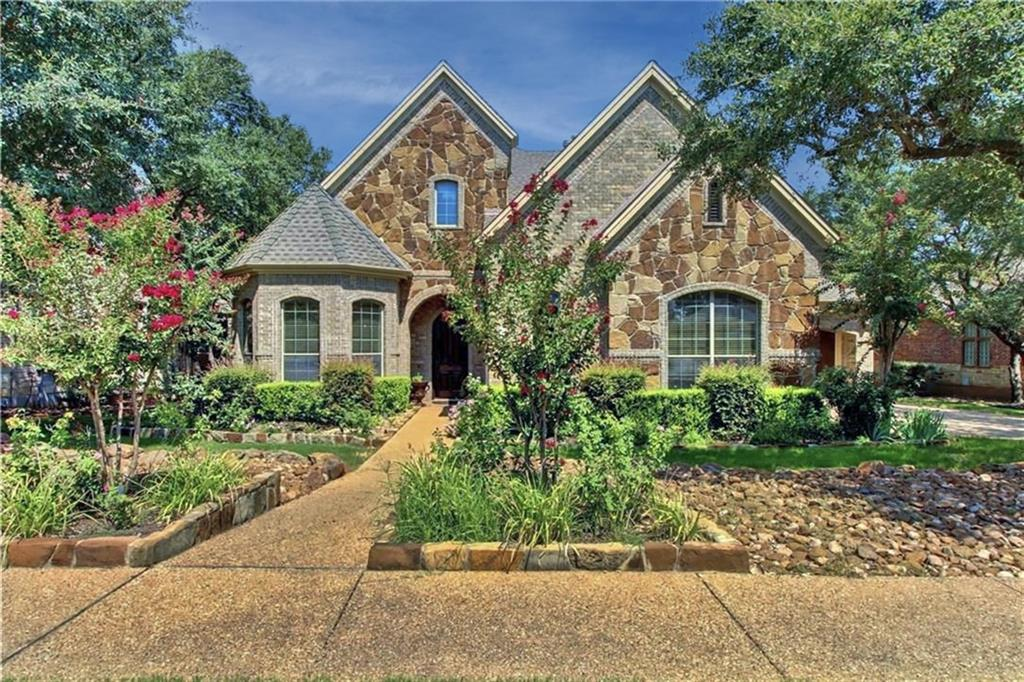 Overlooking the 18th Hole & Brushy Creek Park! Nestled in the gated section of Reserve at Avery Ranch, enjoy being mins to amenities & shopping. A nature lover's dream as the home has a park-like yard, covered patio, & balcony. LED front/backyard lighting. Rare, TWO masters w/over-sized WIC! Jaw-dropping floorplan, foyer w/29' ceilings & chandeliers, office/bed, & formal living/dining. Lg windows & overlooking the family rm, the gourmet kitchen showcases a lg granite island, SS double oven & gas stovetop.FEMA - Unknown Guest Accommodations: Yes Restrictions: Yes  Sprinkler Sys:Yes