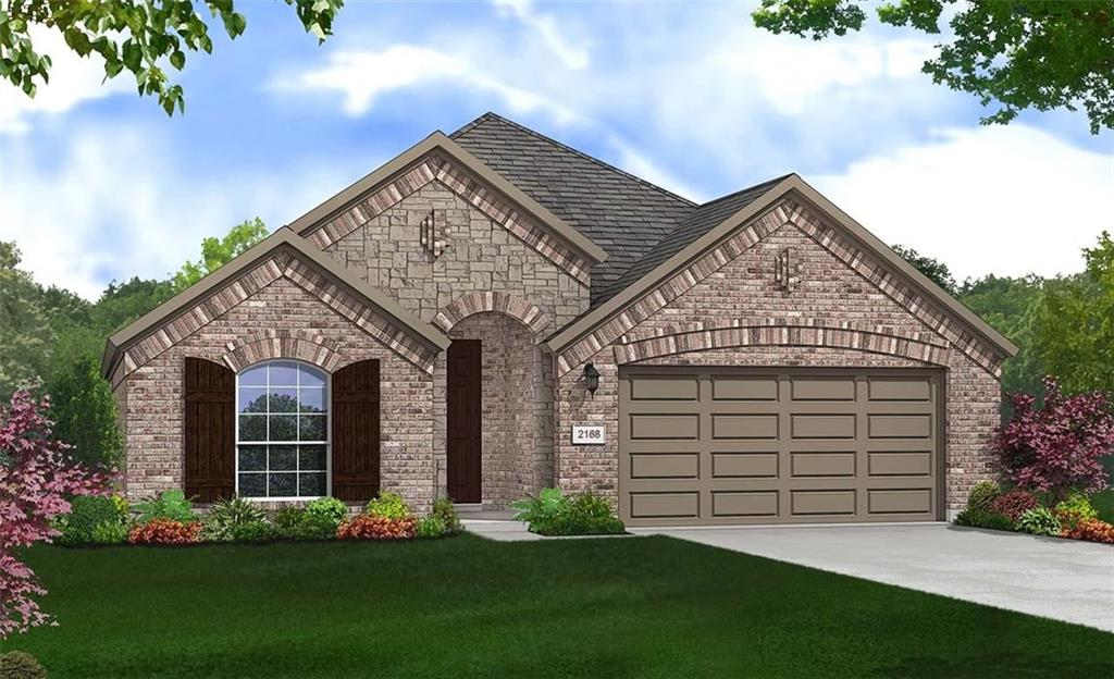Single Story Juniper floor plan features 3 bedrooms and 3 bathrooms plus family, study and flex spaces. Upgraded Kitchen Layout, Granite Countertops, Custom Tile Backsplash, Covered Back Patio, Full Sprinkler/Sod in Front & Rear Yards. See Agent for Details on Finish Out. Available Oct-Nov.Restrictions: Yes  Sprinkler Sys:Yes