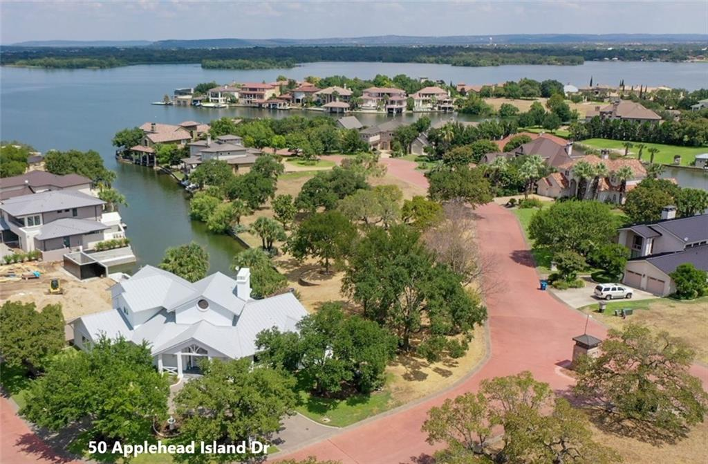 NEWLY REMODELED, FURNISHED LAKE LBJ HOME in Applehead Island. This light and bright home is smaller than most in Applehead Island, with 3,300 sq ft. Western Window Systems floor-to-ceiling sliding doors, white oak floors, quartz counters, KitchenAid appliances, heated floors in bathroom, LED light fixtures, sound system, Marvin Ultimate sliding doors, metal roof. Applehead Island owners enjoy private pool, tennis courts and pavilion. Membership initiation fee waiver to HSB Resort upon approval by Club.Restrictions: Yes