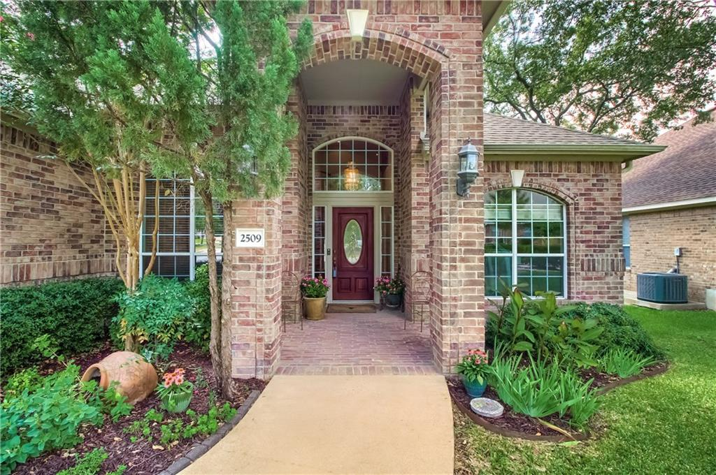 Beautifully appointed home in the desirable Leander ISD. Peaceful setting w/ panoramic views! Incredibly spacious floor plan w/ open living, brick fireplace, dedicated office, large kitchen w/ built-in desk, formal dining & upstairs game room. Coffered ceilings, picture windows & art niches. Views of the Hill Country right from your master bedroom on the main floor. Relax in your outdoor gazebo w/ a tree house glider. Great location w/ convenient access to shopping, dining & much more. A Must See Home!FEMA - Unknown Restrictions: Yes