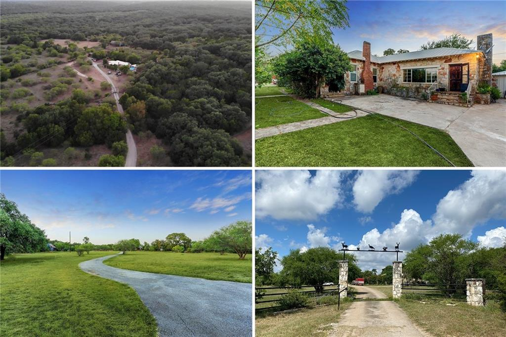 Unique opportunity to own an incredible piece of Central Texas Hill Country surrounded by Purgatory Creek Natural Area. This Ag-exempt Gentleman's Ranch has super low taxes and includes 2 houses, multiple out-buildings complete with cattle fencing and stock tank. Land is a combination of heavily wooded areas and wide open spaces. Environmental study and recent survey available in the documents section. Property is tenant-occupied. Access via private easement. Please contact listing broker with any questions or to schedule a showing.