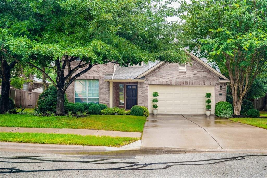 Stunning 5 bd, 3 bth home in highly sought after Falcon Pointe.  This home is located on the loop that backs up to all 3 schools making walking to school easy & safe. 2 Bd, 2 full bath on main floor. 3 more spacious bedrooms, a full bath & large gameroom up. Huge eat in kitchen opens up to formal dining room & family room. Entry chandelier does not convey. No backyard neighbors! Pfisd schools. Close to major hwys. Close to Stone Hill Town Center. The home has an extra sized lot and no rear neighbors (backs up to Falcon Pointe Blvd.) and has amazing mature trees and landscaping. The house itself has: New HVAC 8/2017, 2 New water heaters 2015 and 2016, New Dishwasher and microwave 2019, 8 windows replaced 2019, new carpet and paint throughout.
