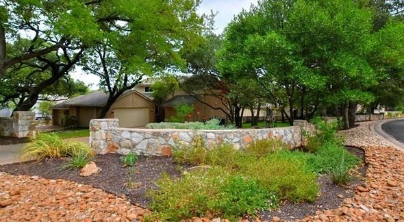 """Beautiful condo remodel with convenience of Lock & Leave. This unique condo is located in the acclaimed Round Rock ISD, and located close to the new Apple Plant and Balcones Country Club and Golf Course!!  Completely remodeled in August 2020, 3 new AC units, vaulted ceilings, fireplace, built in bookcase, tons of storage, walk in closets, new interior paint, flooring, lighting, and more. Wall of windows in the living and dining room area creates a bright open feel. The large wrap around private deck also has a private fenced side yard. Master bedroom is down stairs with large bath and two walks in closets, private entrance to the deck for morning coffee. The two Jack and Jill bedrooms upstairs have a large bath between them. There is an extra storage room upstairs that could be used for an office, play room or storage. This room is not included in the total square footage of 2473, so it is truly a """"Bonus Space.""""  The kitchen & wet bar have been completely renovated including: appliances, lighting, hardware, sinks, and granite counter tops. The seller will pay one year of the buyers HOA dues with an excepted offer within 10 days!!  Don't miss out on this one!"""