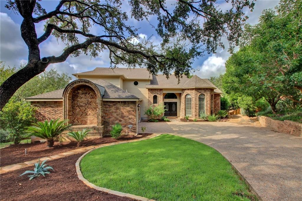 This custom built Jauregui home is nestled in the back of one of the prettiest cul-de-sacs in Northwest Hills!  Enjoy total privacy while out on your huge .68 acre lot.  Plenty of room for a pool!  Lush treed views from every window, and two levels of outdoor decking span the entire back of the home.  The front doors open to a grand entry and a classic, elegant interior with a spacious floorplan.  Soaring ceilings, gleaming hardwood floors, master on main, stainless appliances including a Sub-Zero refrigerator, granite countertops, and lots of storage in this beauty.  Exterior was painted in May, and all new carpet was installed upstairs.  Zoned to the newly renovated Doss Elementary!  Don't miss the 360 walkthrough tour and the floorplan included in the virtual tour link.  Unbeatable location, close to Bull Creek, Arboretum, Domain, new MLS stadium, and only minutes to downtown too!