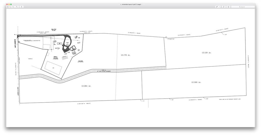 12+/- acres subdivided out from a 58 acre tract.  Light restrictions.  Minutes from 290 and zoned for highly rated DSID! Pending survey. Legal description pending replatt. Buyer to verify all information