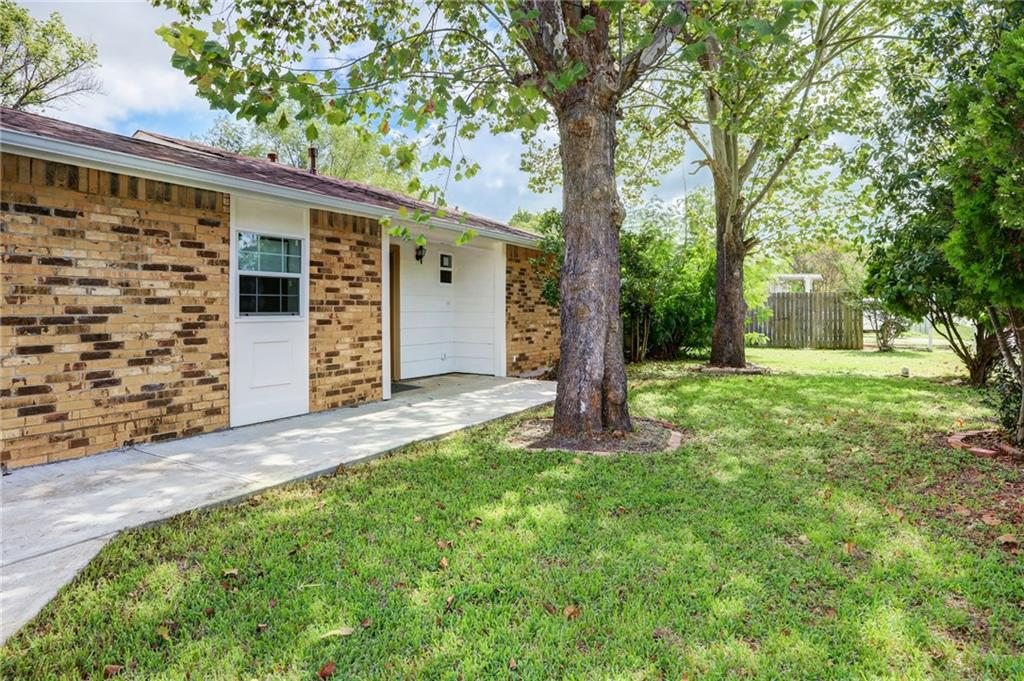 Newley remodeled 3 bed 2 bath bungalow (1600sqft). 400sqft casita in backyard with 1 bedroom and a half bath. Beautifully treed lot.  SELLER TO CREDIT BUYER $7,000 TOWARD NEW ROOF OR WILL PUT NEW ROOF PRIOR TO Closing! New siding, some new electrical and plumbing, new HVAC, new windows. Call Agent for details.FEMA - Unknown Guest Accommodations: Yes