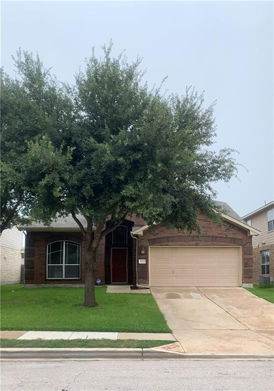 Spacious floor plan in Villages of Hidden Lakes.  Huge backyard.  This 4 bedrooms, 2.5 baths has a large owner suite, walk-in closet, an ensuite bath with double vanity, garden tub and separate shower.   Kitchen opens to the family room.  HOA features a community pool, and park. Relax and entertain under the covered patio.  Located in Pflugerville, it is close to Stonehill Shopping Center, Baylor Scott & White Hospital as well as numerous shops and eateries.