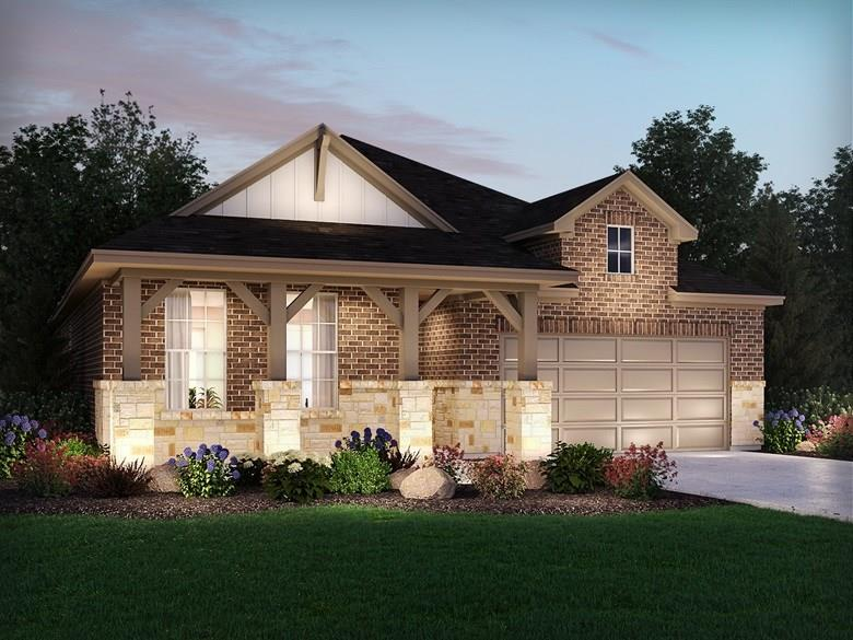 Brand NEW energy-efficient home ready Feb 2021! Corner homesite w/ front porch & oversized covered patio. Skip your commute by creating an office in the Magnolia's flex space. The kitchen island overlooks the large great and dining rooms. The master bedroom features an impressive walk-in closet and bay window. Amenities will include: amenity center w/ a pool, splash pad and playground, plus trails w/ connectivity to the adjacent Founders Memorial Park. Schools located in award-winning Dripping Spring ISD.Restrictions: Yes  Sprinkler Sys:Yes