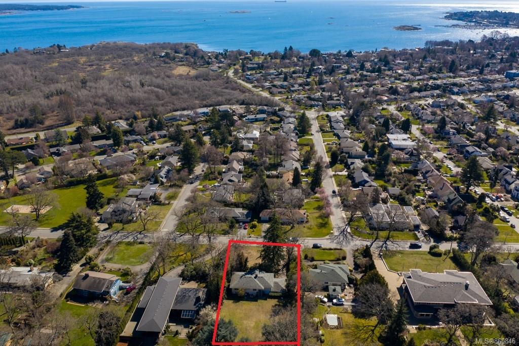 A fabulous opportunity to purchase a 0.64 acre (over 28,000 square ft) building lot in the Uplands. The current home is rented out and has always been an easy rental. Construct your home plans while this home generates rental income. Set high on Nottingham and offering ocean glimpses currently, but likely to have even more views with your new home, this mid century bungalow is located across the road from Nottingham Park, down the road from Uplands Park (76 acres of amazing walking trails), minutes to Willows Beach, Willows School, St Michael's, bus routes and 7-10 mins to downtown. Enjoy coffee shops, walking & ocean without sacrificing the true Upland's feel. If you are a golfer the Uplands Golf Course is up the street and Victoria Golf Club is just mins driving. Rarely will a fabulous building lot come available with a great rental option on it! Call now!