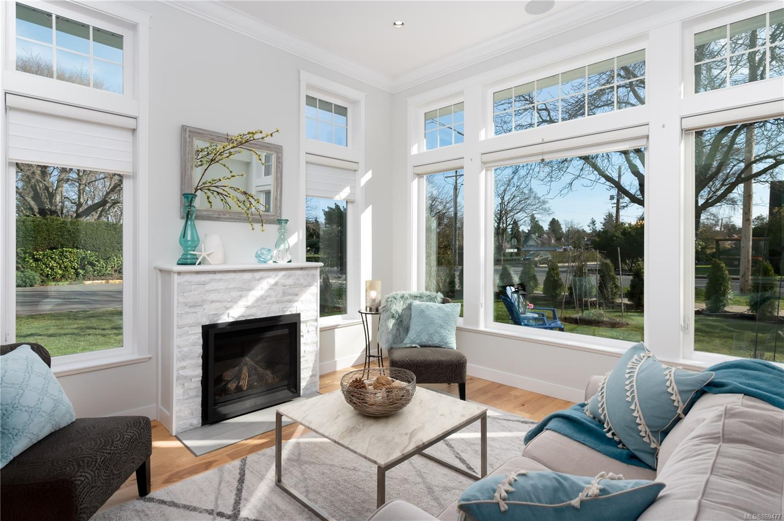 Welcome to 2396 Windsor Road in the coveted district of South Oak Bay. Custom-built in 2018 for the current owner and impeccably maintained, this home exudes quality and warmth throughout. Designed by Victoria Design Group and built to the highest of standards, this character inspired home offers all the modern luxuries one expects in a high-end home, while retaining a traditional feel that keeps it warm and inviting. The well thought out floor plan features formal dining and living areas, an open-concept kitchen with adjacent family room opening to the backyard deck, ideal for entertaining. Features include; large windows, hardwood floors, top-end appliances, and a professionally landscaped yard with irrigation. Upstairs you will find a spacious primary bedroom with walk-in closet and ensuite bath, plus two additional bedrooms and laundry room. Just a short stroll to The Avenue, Oak Bay Marina, Oak Bay Beach Hotel, Victoria Golf Club, various parks and the oceanfront. A must see!