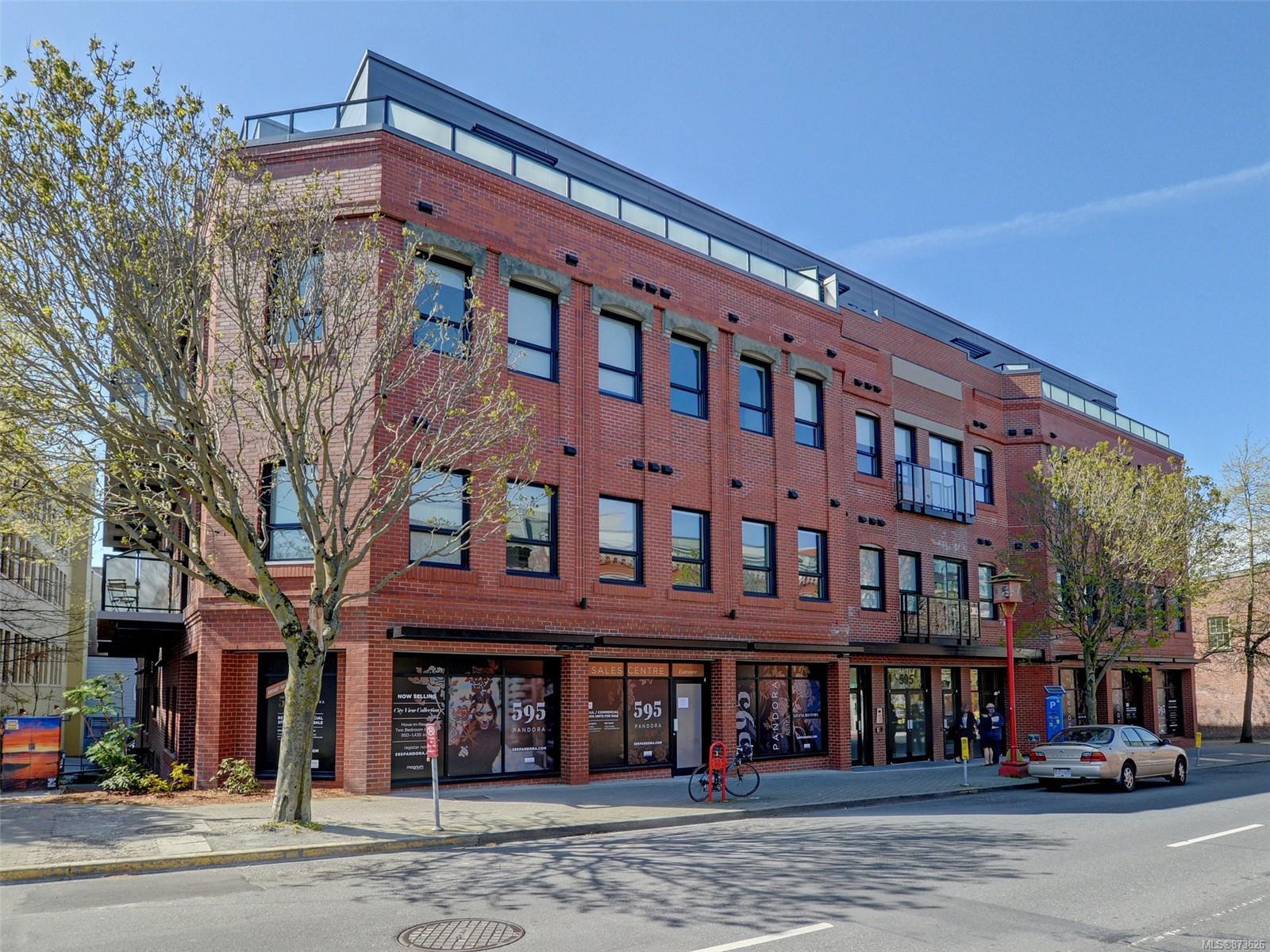 405 - 595 Pandora Avenue, Downtown, Victoria