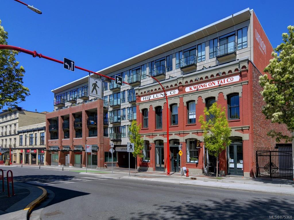 410 - 528 Pandora Avenue, Downtown, Victoria