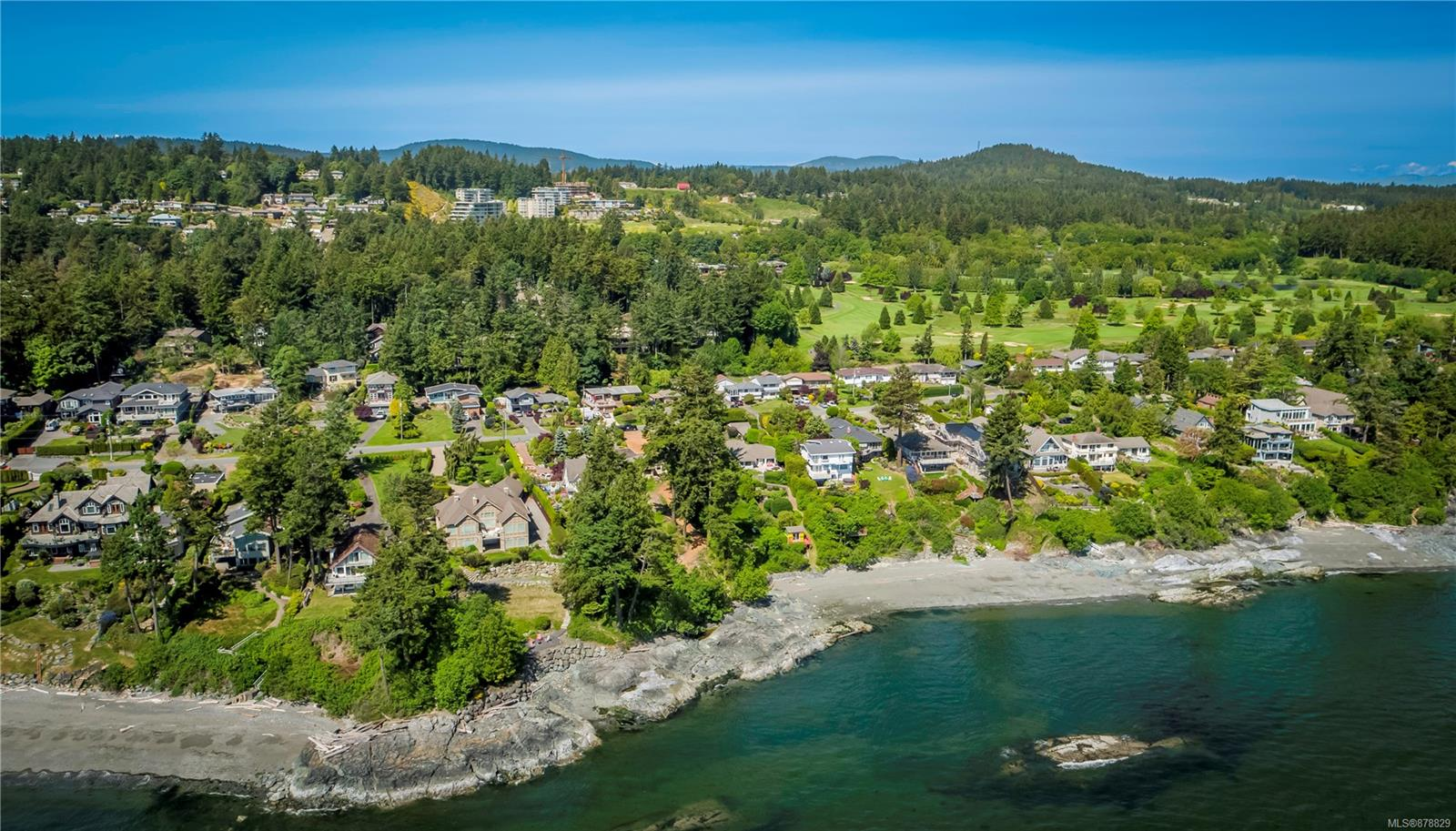 """BUILD YOUR WATERFRONT DREAM! Only the 2nd owner of this stunning WATERFRONT on Cordova Bay's """"Street of Dreams"""" ....this is a rare find! Updated and cozy 3BD, 1BA Cottage is the perfect spot to enjoy the property and plan your West Coast Retreat on one of Victoria's finest oceanfront neighbourhoods. This incredibly sunny, gently sloped, 50' wide by approx. 300' waterfront lot offers fabulous views across Salish Sea, Gulf & San Juan Islands & Mt. Baker beyond. Very private pocket beach with great access and privacy at the water's edge. Current RS-18 zoning allows up to 5,000sf plus accessory buildings & home occupation and great examples of recent new-builds on the street. Excellent holding property or maybe renovate the existing 1942 bungalow that has been well maintained. Live in paradise & enjoy inspiring sunrises on your private beach & be part of the vibrant seaside community just steps to golf, artisan shops, trails & quality schools yet only 15 minutes to Downtown or the Airport."""