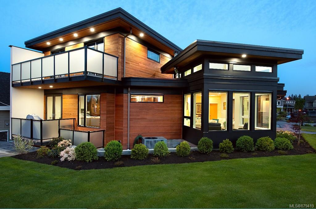 PRIME CORDOVA BAY-Here is your chance to own an architectural gem! This beautiful 6 bed/8 bath property will leave you awe inspired from the curb appeal down to the smallest detail. With stunning waterfall entrance, this home opens up to a custom built gourmet kitchen offering floor to ceiling cabinetry, 10 ft quartz countertops & top of the line appliances. Main floor has also been fitted w/one-way windows, creating ample natural lighting without compromising any privacy. Upstairs, Primary bedroom boasts 5 pce spa inspired ensuite w/steam shower & private patio. Two add'l bedrooms w/full ensuite, walk in closets & outdoor deck space. Downstairs has media room w/theatre & full bar, two identical bachelor suites w/private entry, allowing for add'l guest space or hassle free rental income. Home is fully tech equipped w/integrated sound system, allowing for music controls throughout the home. Close to Cordova Bay beaches, Claremont High School & Broadmead Shopping Centre.