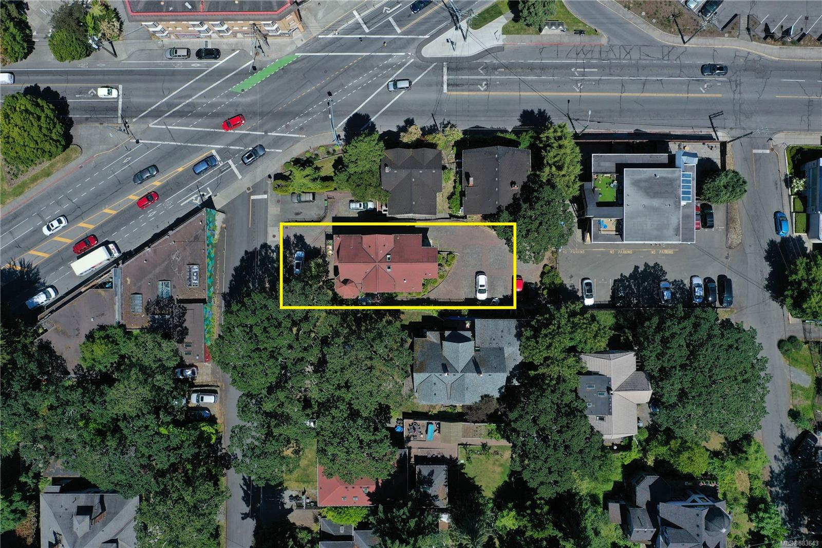 DEVELOPER ALERT. Re-development opportunity with land assembly site in the city of Victoria. Site sits on Oak Bay Junction, connecting the vibrant neighbourhoods of Fernwood, Rockland and Oak Bay, with all amenities within walking distance. The Official Community Plan has designated this area for Large Urban Village. The seven rental units between the three homes create a substantial holding property while determining the potential for Townhome or Multi-Family Development. To be bought in conjunction with MLS 883626 & MLS 883633
