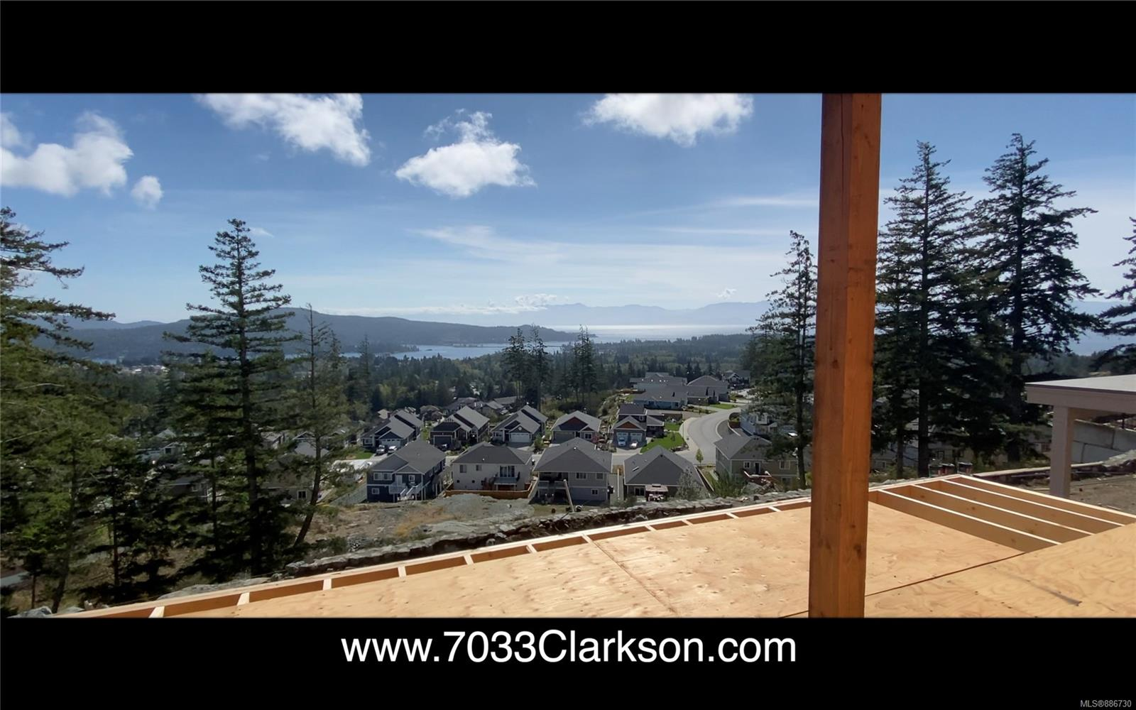 180 Degree view from the deck