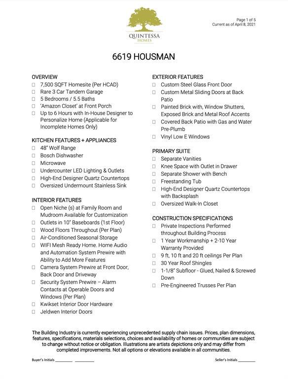 6619 Housman Street, Houston, TX 77055