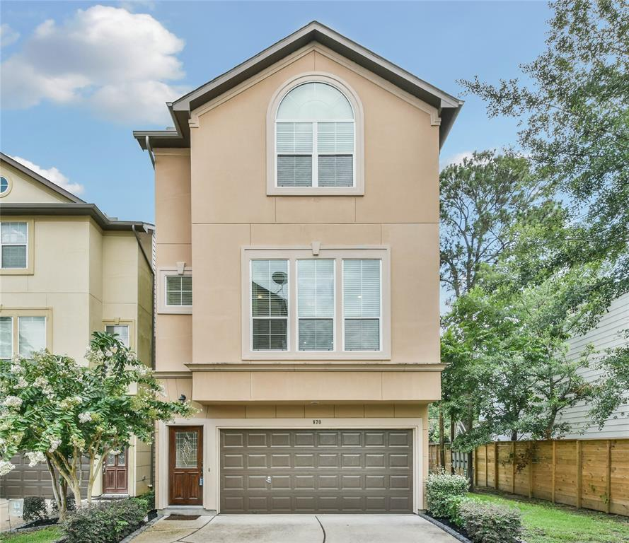 870 Fisher Street, Houston, TX 77018 - Property Listing at The Reyna Group