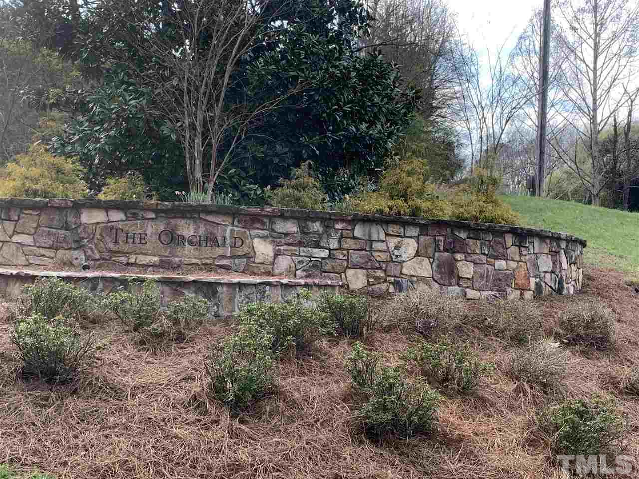 Chapel Hill, NC Land for sale