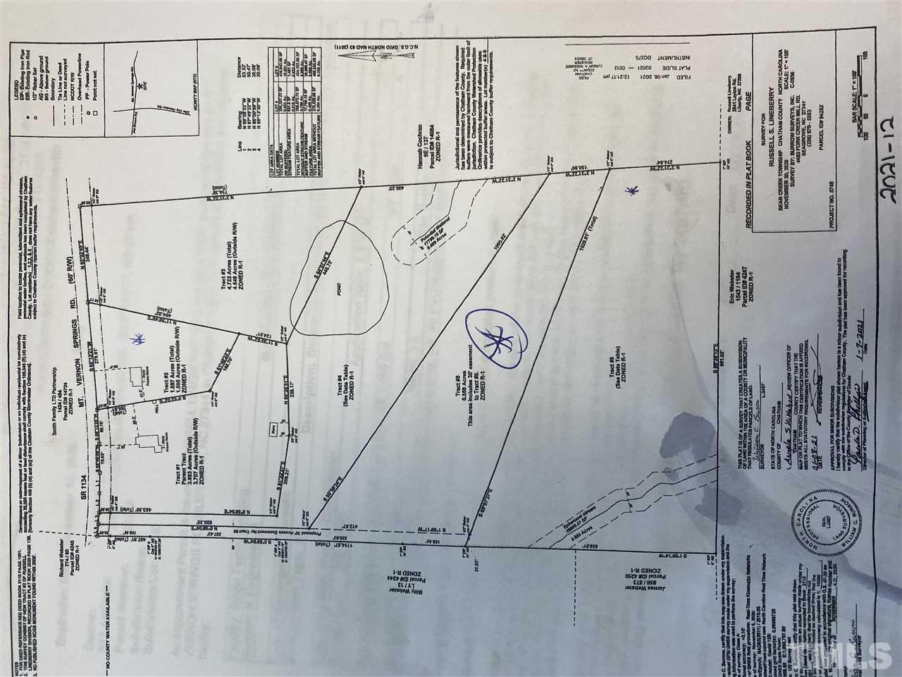 Siler City, NC Land for sale