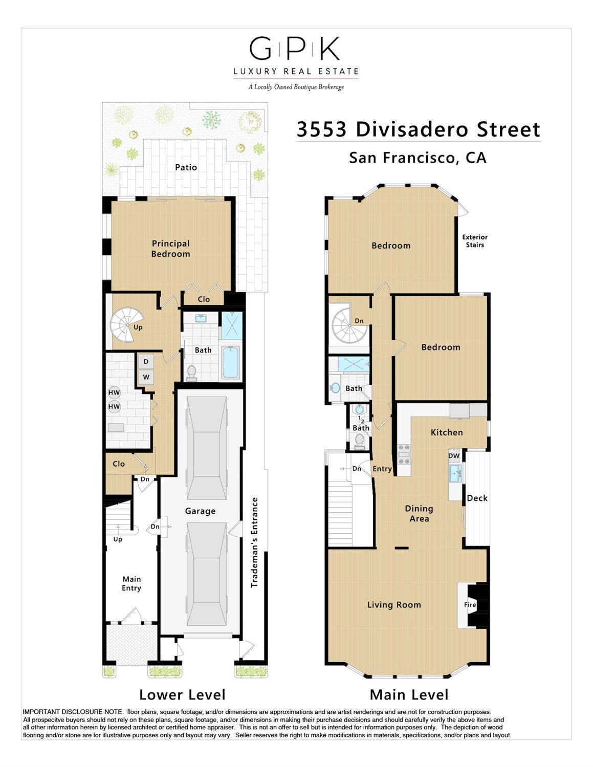3553 Divisadero Street