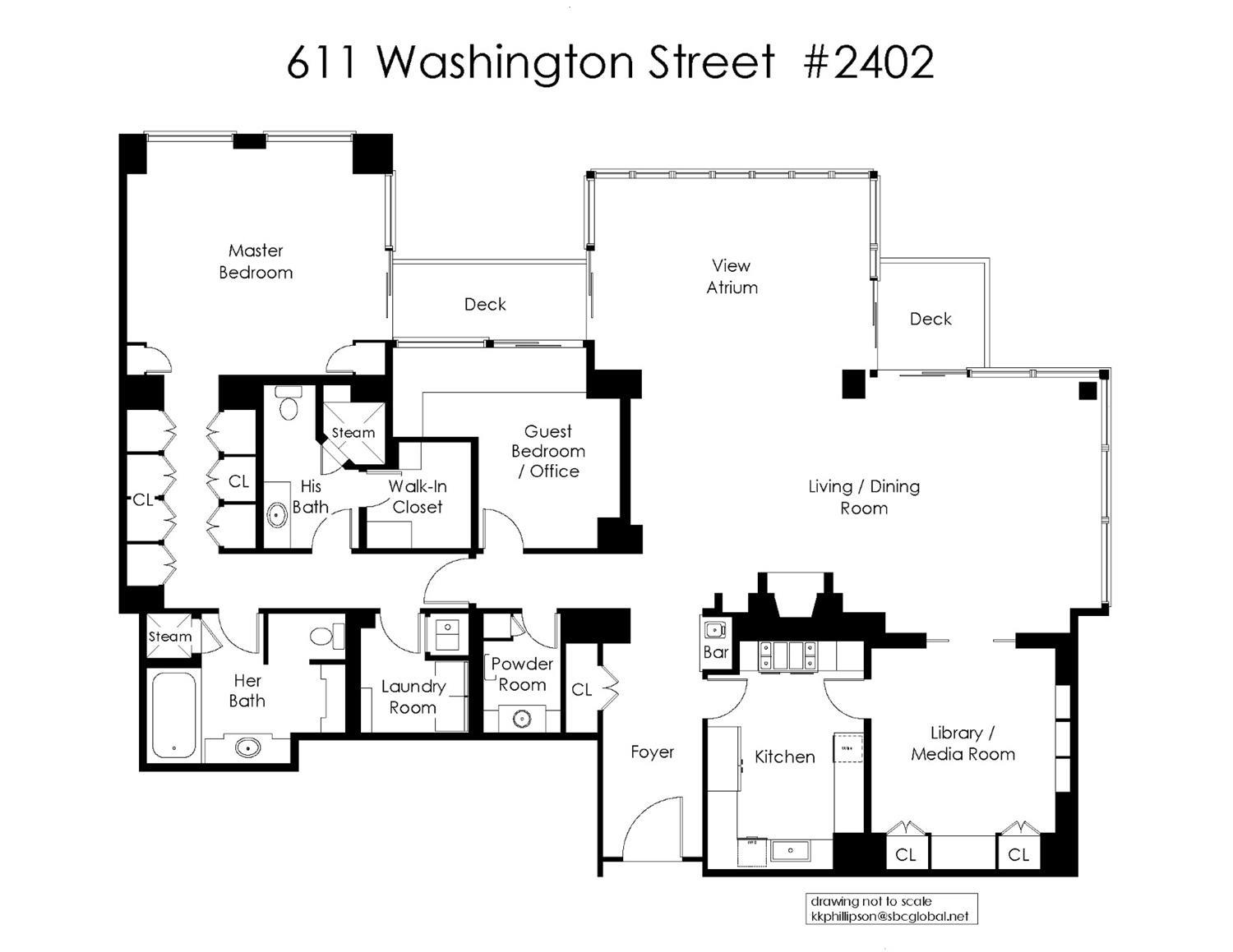 611 Washington # 2402