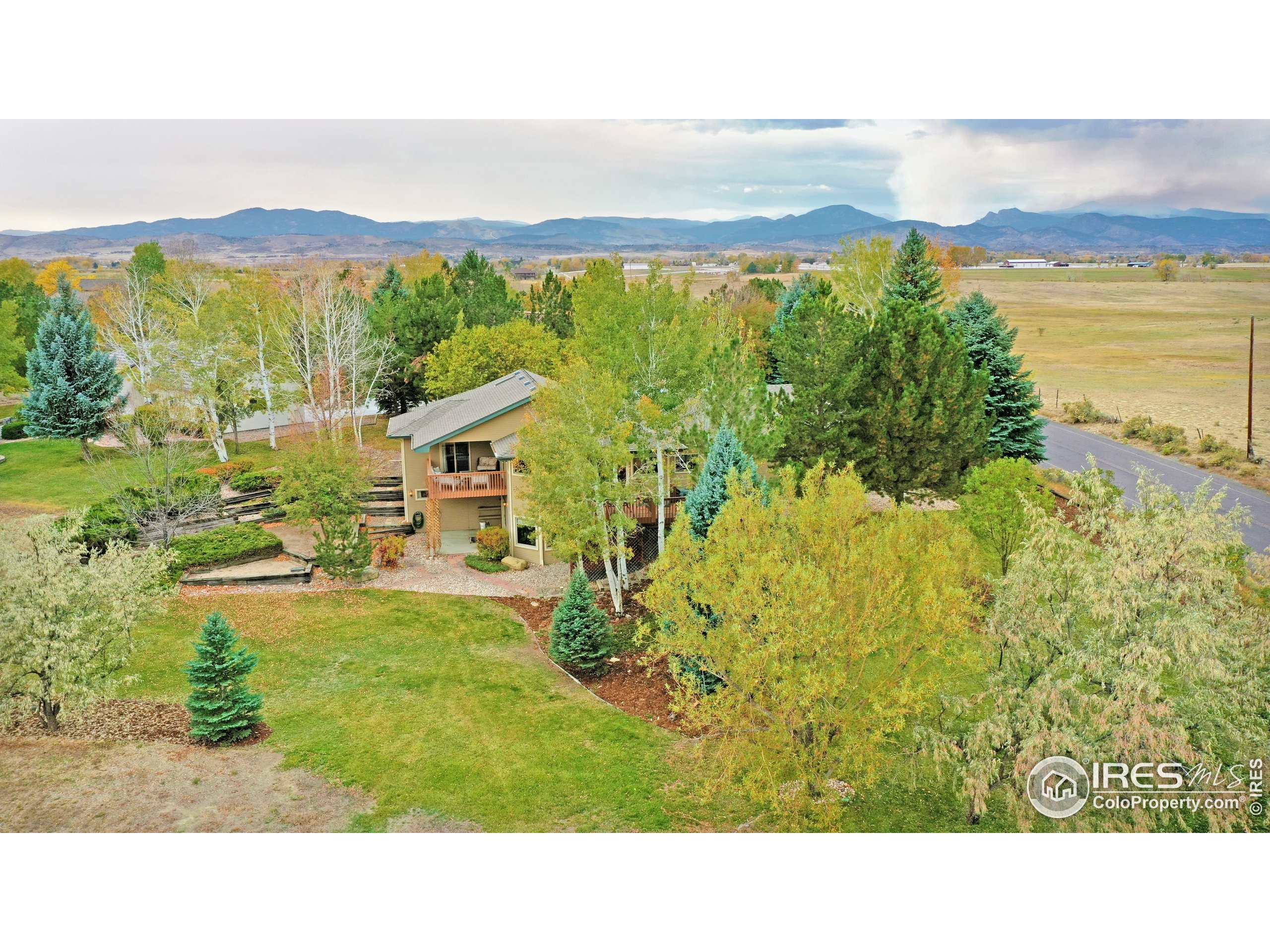 Absolutely wonderful custom built ranch home on over 1/2 acre on the edge of town. Located along County Road 16 on a dead end road with only this neighborhood's traffic. 4 bedrooms (2 main, 2 bsmt) and 4 baths including a master suite. Incredible access to the amazing views from the master suite, formal dining/living, informal dining/kitchen & the walk-out. So many great locations to take in the open space and country feel. Oversized garage is finished with an 8' 3rd bay door. Country in town!