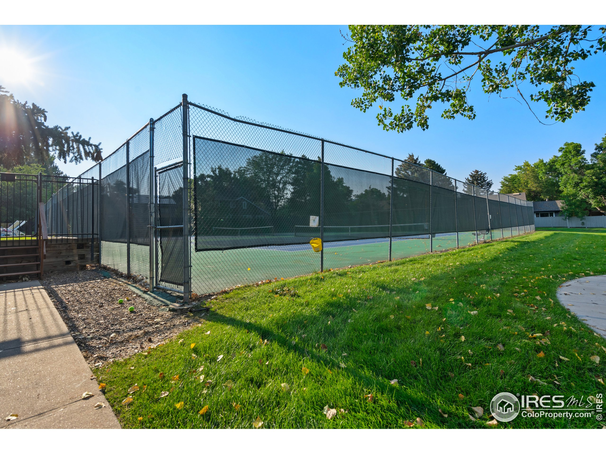 Private Community Tennis Courts