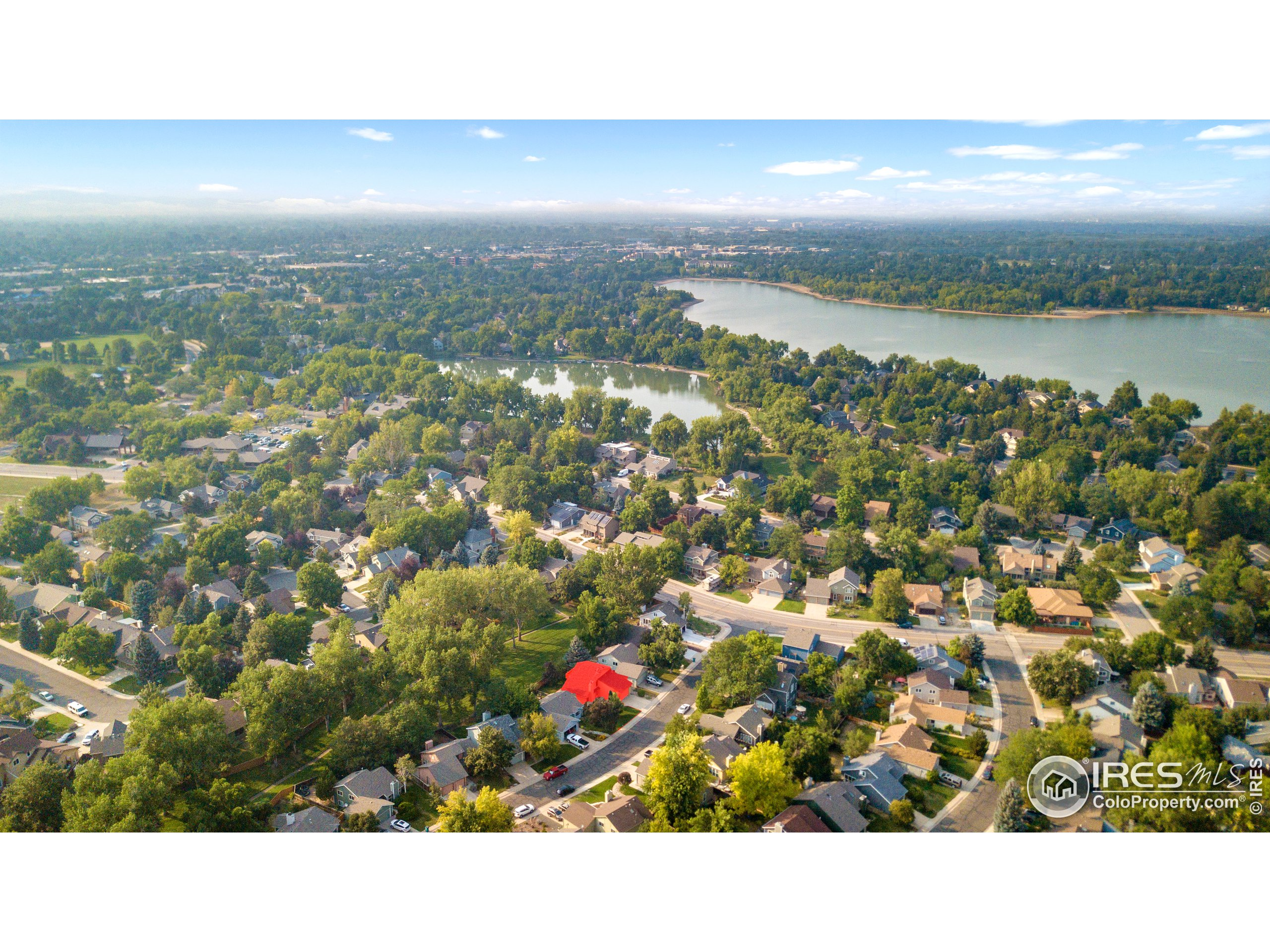 Great location close to Warren Lake and the SE part of Fort Collins