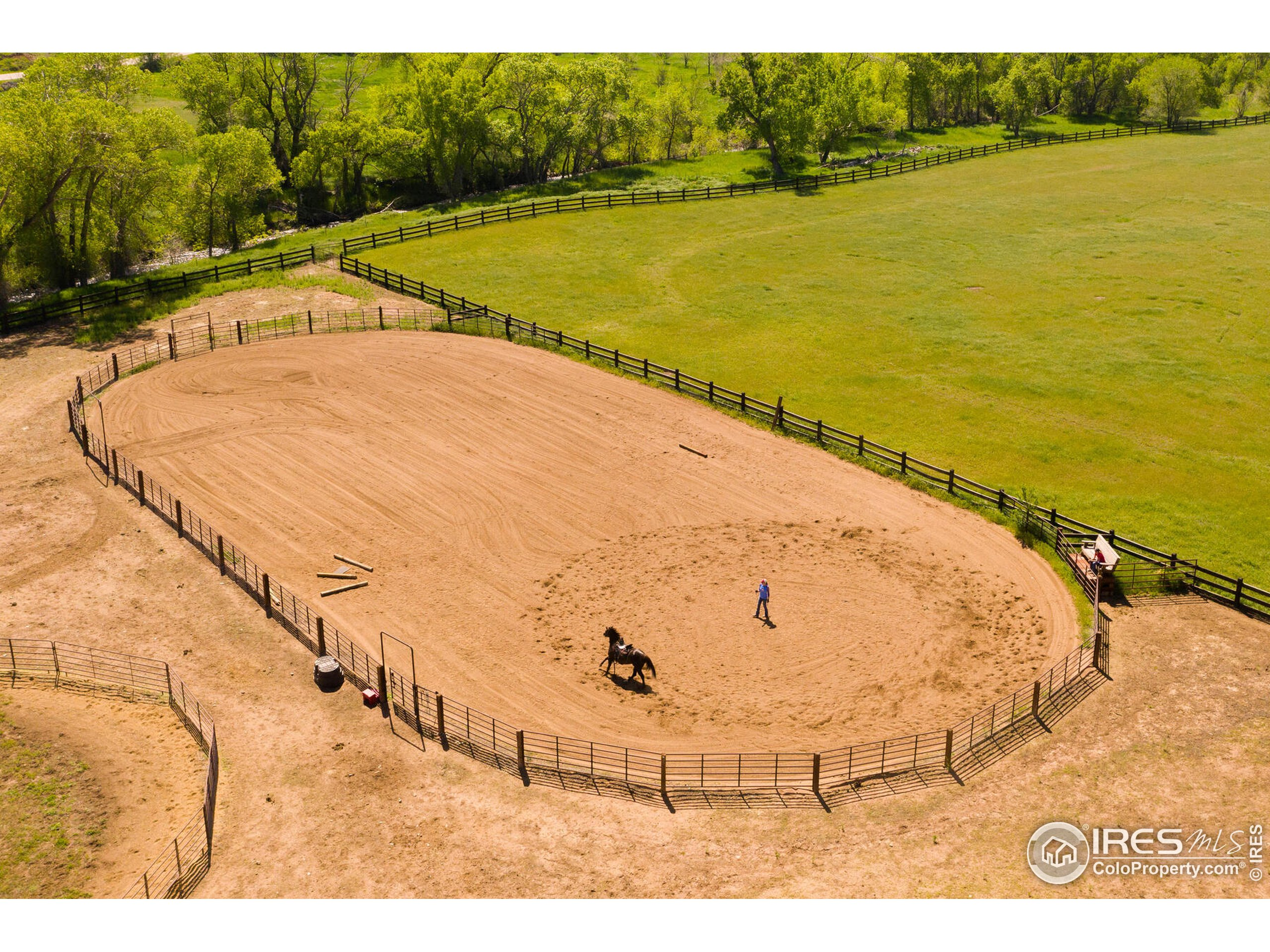 100 by 200 Outdoor Riding Arena