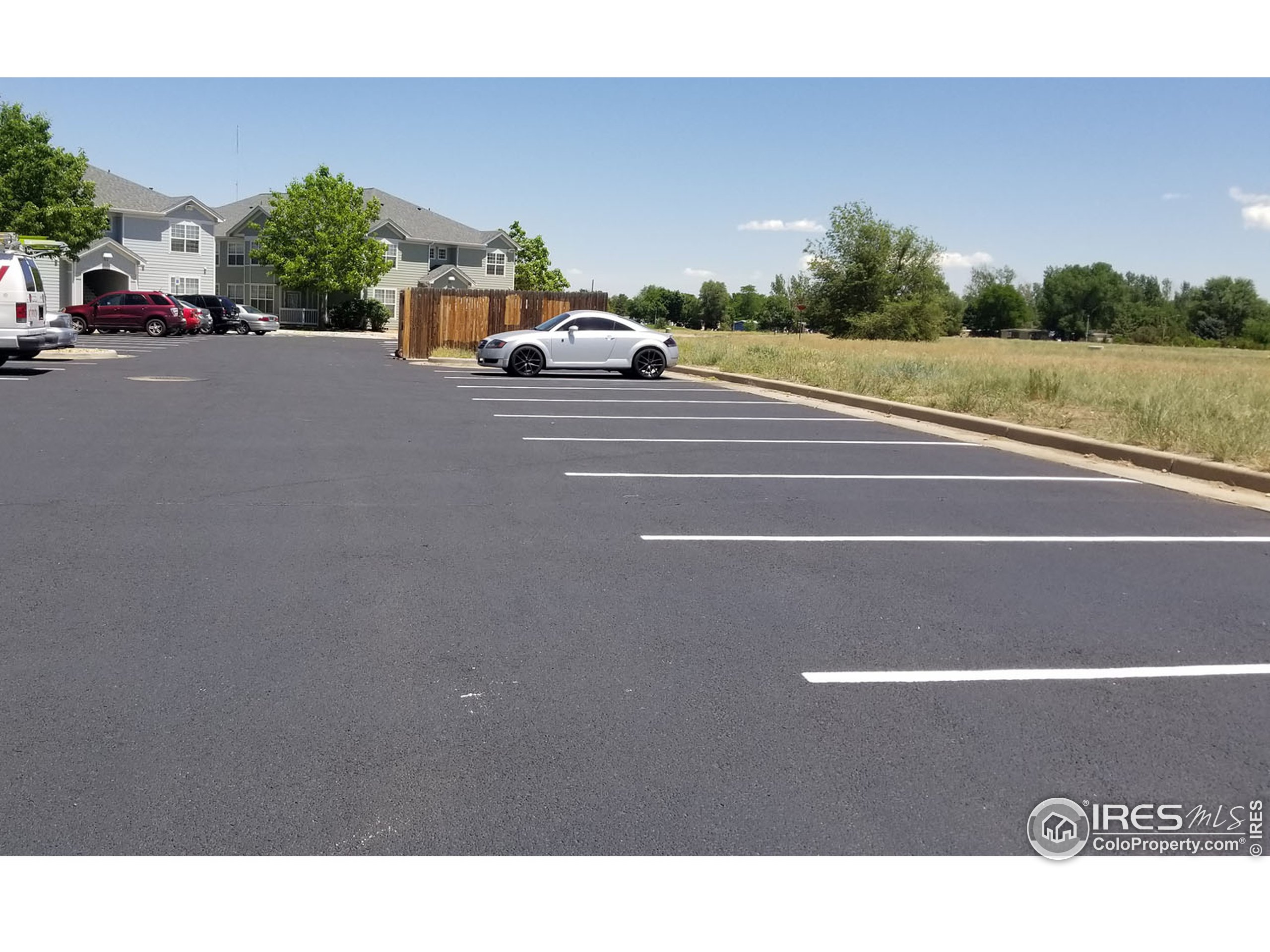 lots of parking for guests